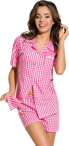 9c2437045228 Taro Dámske pyžamo Amy červené káro - Glami.sk
