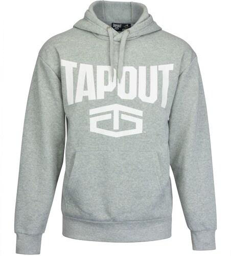 mikina Tapout Large Logo Hoodie pánská Grey - Glami.sk 63a7f3de80