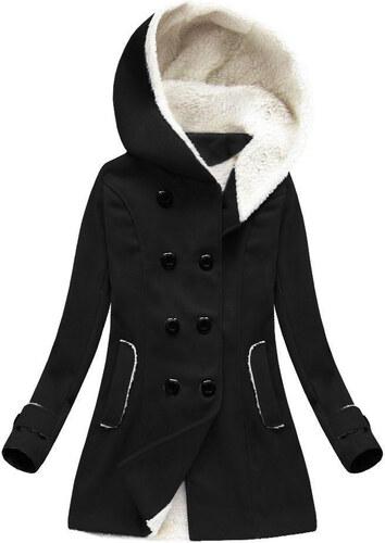 7c4e062510 MADE IN ITALY Zimný kabát s kapucňou (75ART)