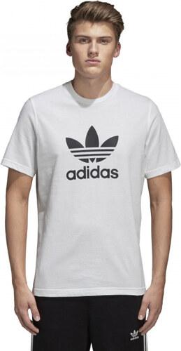 c944084b5f Pánske tričko adidas Originals TREFOIL T-SHIRT (Biela) - Glami.sk