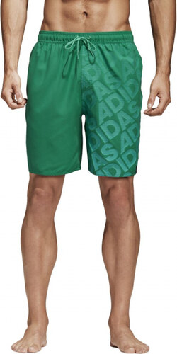 Pánské plavky adidas Performance LIN SH ML (Zelená) - Glami.cz 29c41257005