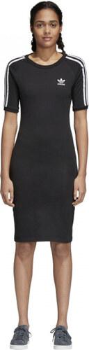 Dámske šaty adidas Originals 3 STRIPES DRESS (Čierna) - Glami.sk 35503bcb66c