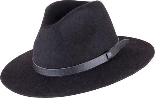 Černý pánský klobouk Assante 85003 - Glami.cz 0341e096b8