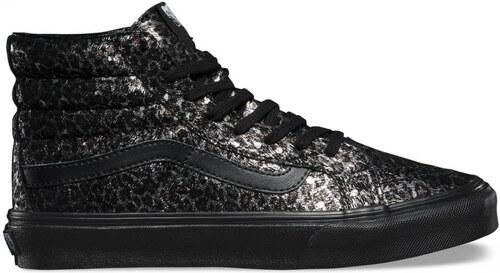 Boty Vans SK8-Hi Slim (Metallic Leopard) black black - V0018IJQC ... c389a78548