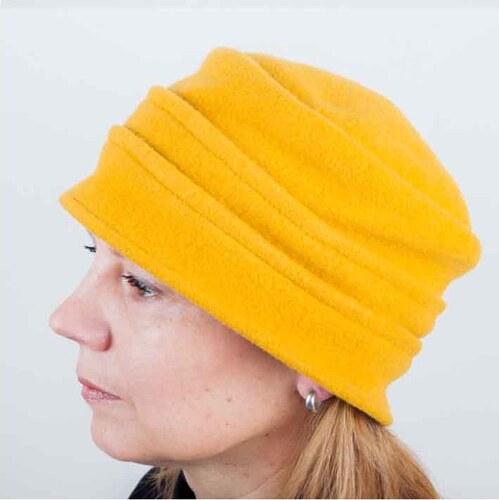 Žlutý elegantní dámský klobouk Tonak 87106 - Glami.cz 8d70f11a20