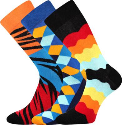 92c70c4c8c9 Lonka Společenské ponožky Dimage MIX B 3 páry - Glami.cz