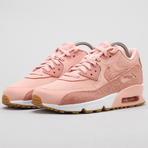 e86b8a15a66d Nike Air Max 90 Leather SE GG coral stardust   rust pink - white ...
