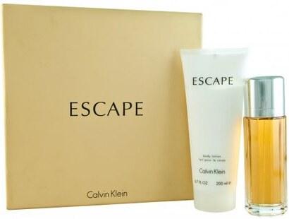 8f0bfad95f CALVIN KLEIN Escape Dárková sada dámská parfémovaná voda 100 ml a tělové  mléko Escape 200 ml
