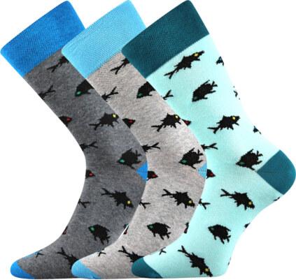 Lonka Společenské ponožky Wearel 010 3 páry - Glami.cz c8d7848a02