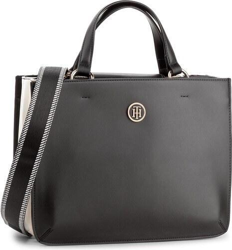 Kabelka TOMMY HILFIGER - Youthful Heritage Satchel AW0AW04971 002 ... 6e36d9ab07d