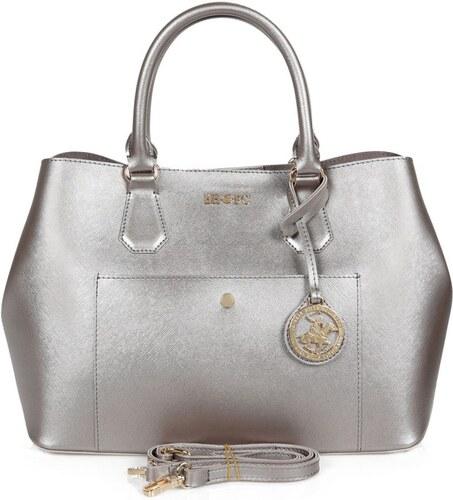 BHPC Kabelka ve stříbrné barvě Beverly Hills Polo Club Mona - Glami.cz 53b2e8e2797