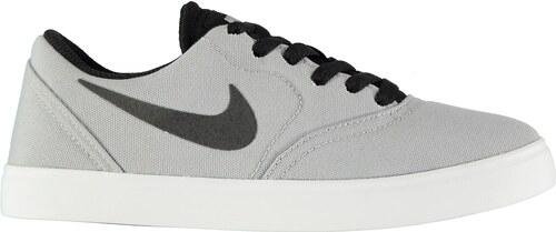 517057934e482 Nike SB Check Junior Boys Canvas Skate Shoes Grey/Black - Glami.sk