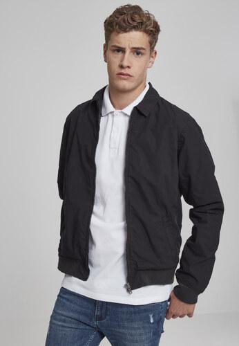 Urban CLASSICS Pánska prechodná bunda URBAN CLASSCS Cotton Worker Jacket  Black cf3939e03a1