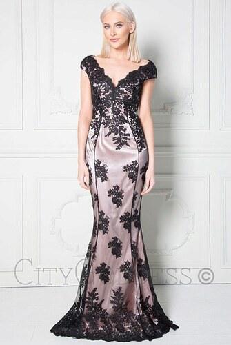 b6725a102ba6 Plesové šaty s krajkou City Goddess Adina - Glami.cz