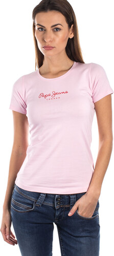 Dámské tričko Pepe Jeans NEW VIRGINIA L - Glami.cz 0da66f7f67