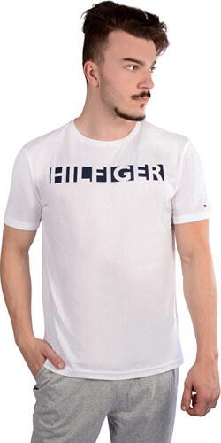 Tommy Hilfiger Pánske tričko Premium Tech Rn Tee Ss UM0UM00262-100 White 3c1f6ef9d59