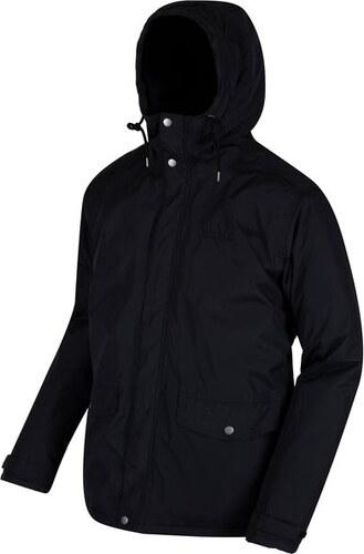 Pánska zimná bunda Regatta RMP214 STERNWAY II Čierna - Glami.sk 504e8e27b9a