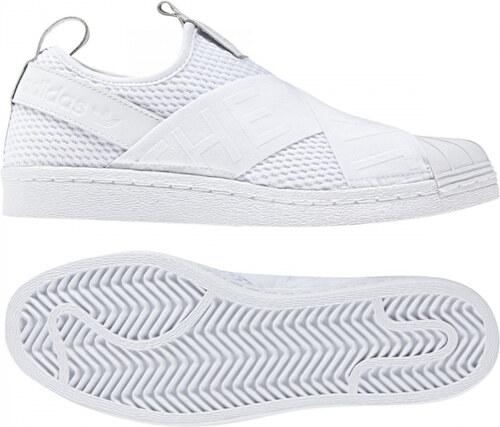 6eced7236529d Dámske tenisky adidas Originals SUPERSTAR SLIPON W (Biela / Čierna ...