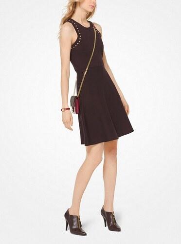 Šaty Michael Kors Studded Dress hnědá - Glami.sk 8528fbc944c