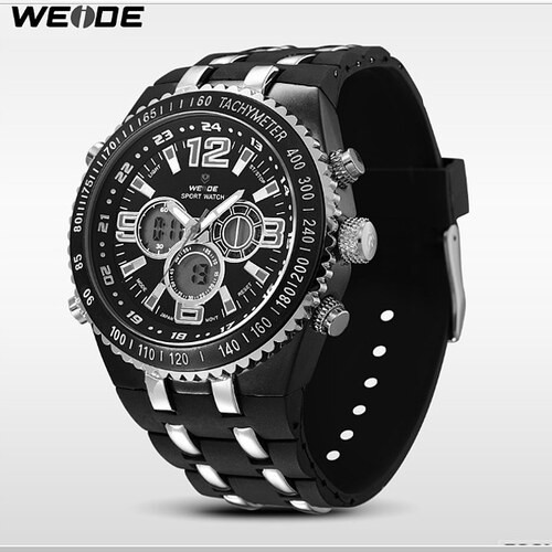15cfd4c3ba7 Pánske hodinky WEIDE 1107 - Glami.sk