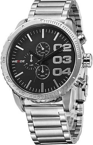 5449149a83a Pánske hodinky WEIDE 3310 black - Glami.sk