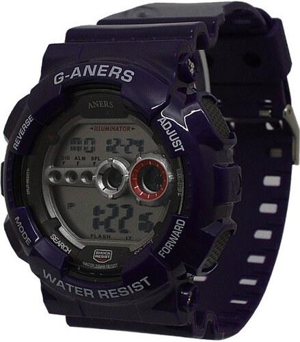 Sportovní hodinky G-ANERS 9033 fialové - Glami.cz eff92bab8f