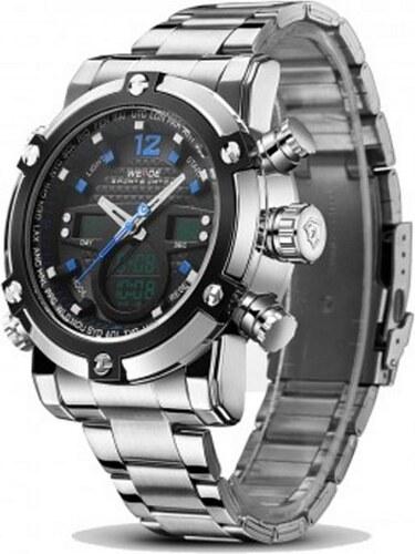 Pánské hodinky WEIDE 5205 modré - Glami.cz 76be09597db