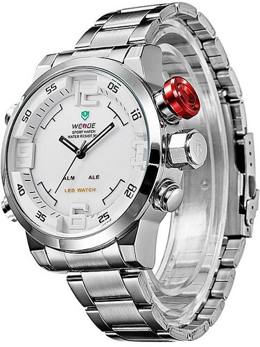 Pánske hodinky WEIDE 2309 biele - Glami.sk 3c7628b9e3a