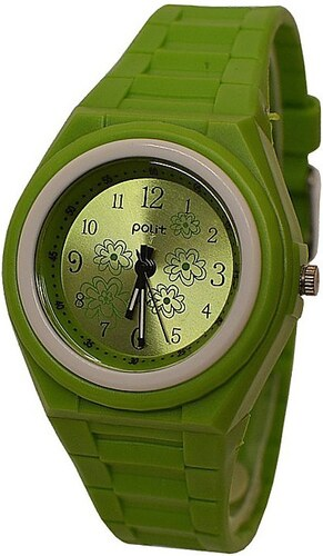 Detské hodinky Polit 918 zelené - Glami.sk e50d0a744ff