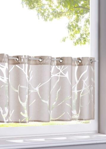 bpc living bonprix brise bise roya blanc pour maison. Black Bedroom Furniture Sets. Home Design Ideas