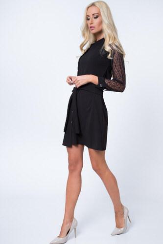 Šaty s krajkovými rukávy a3093cd6d0