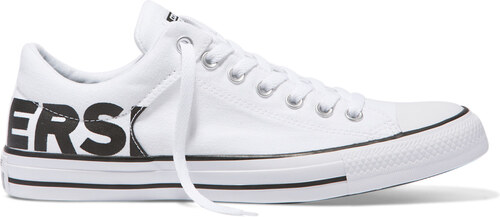 dcd2c156546 Converse Chuck Taylor All Star High Street Wordmark biele C160110 ...