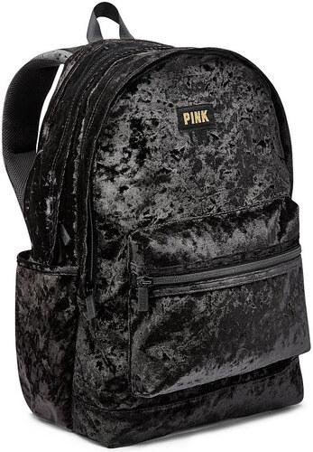 Dámský sametový batoh Victoria s Secret PINK - Glami.cz 4a66e03964