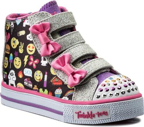 Outdoorová obuv SKECHERS - Baby Talk 10687N BKMT Black Multi - Glami.sk b310c4a25c0