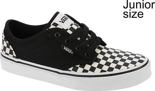 f0488a907d4 dětské boty Vans Atwood - Checkerboard Black Classic White - Glami.cz