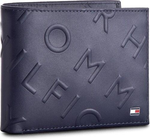 2e8ee66592 Nagy férfi pénztárca TOMMY HILFIGER - Deboss Extra Cc & Coin AM0AM03157 413