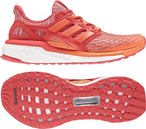 Dámské běžecké boty adidas Performance ENERGY BOOST W (Oranžová   Červená) 7b7622308f