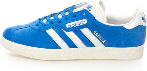 Adidas ORIGINALS Gazelle Super sneakers cipő nyersbőr és bőr részletekkel 9d7d81af54