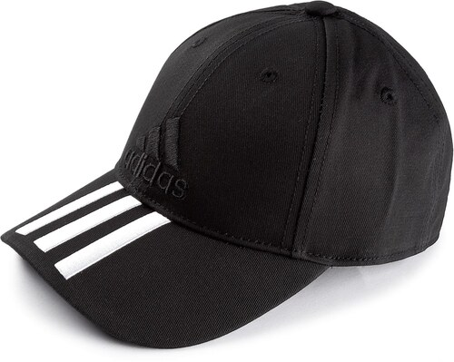 2b828fc0b29 Kšiltovka adidas - 6p 3s Cap Cotto S98156 Black Black White - Glami.cz