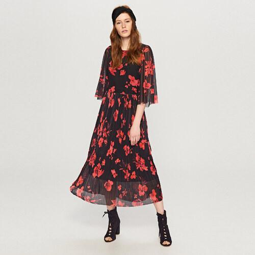 Reserved - Kvetované maxi šaty - Viacfarebn - Glami.sk db19b1a1bd4