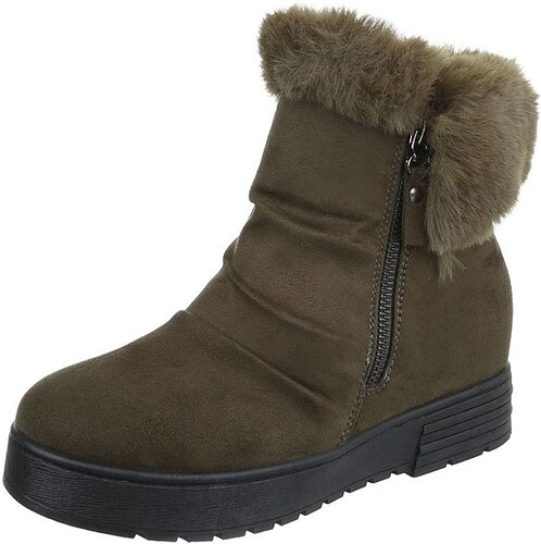 99de69c9e430 Dámske vysoké zimné topánky s kožušinou - Glami.sk