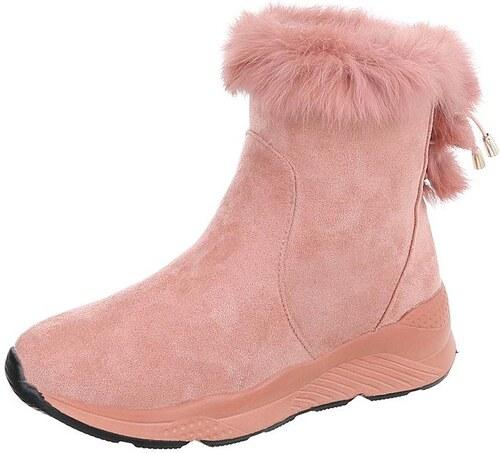 2198659358ff Dámske vysoké zimné topánky s kožušinou - Glami.sk