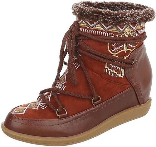 2a9efcf134b Dámské vysoké zimní boty