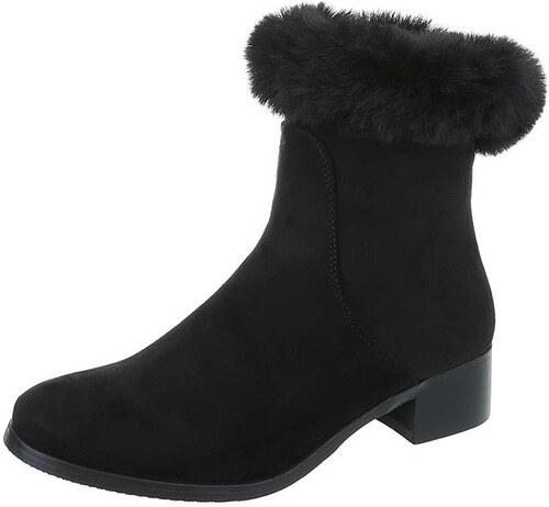 fcc4afd6e3b5 Dámske vysoké zimné topánky s kožušinou - Glami.sk