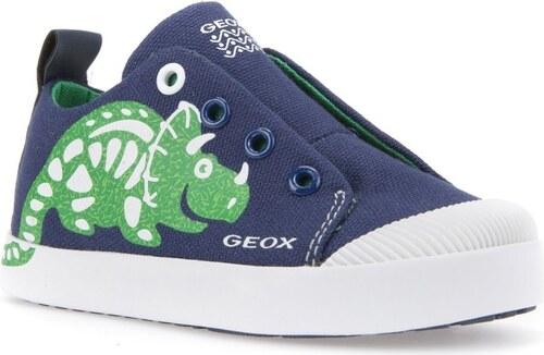 58044d8ef09 Geox Chlapecké tenisky Kilwi - modro-zelené - Glami.cz