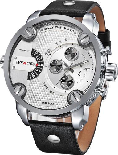 Pánské hodinky WEIDE 3301 stříbrné - Glami.cz 0018c4a09c1