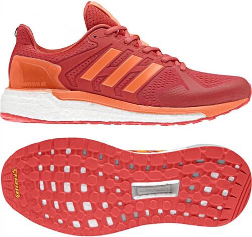 ff1308c958a4 Dámske bežecké topánky adidas Performance SUPERNOVA ST W (Červená   Oranžová )