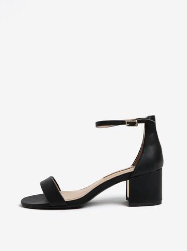 39757826a8b6 čierne sandále na podpätku Dorothy Perkins - Glami.sk