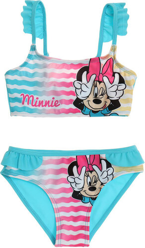 Minnie egér Minnie csíkos türkiz bikini - Glami.hu bfed815737