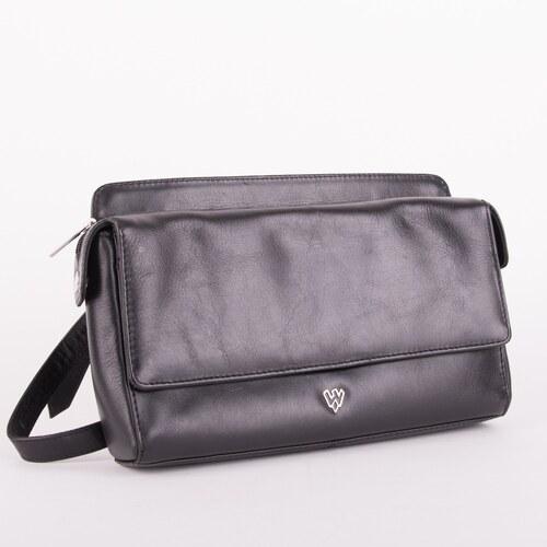 Arwel Černá kožená dámská kabelka přes rameno Prostiel - Glami.sk 7c8187753e